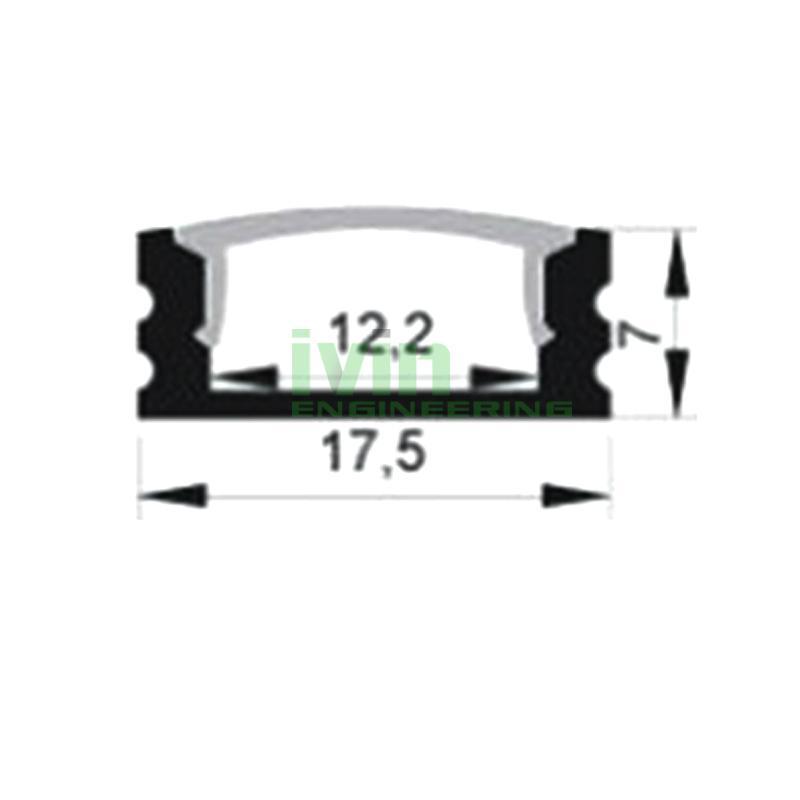 Aluminum light bar, LED PC diffuser, aluminium led channel,aluminium led bar 3
