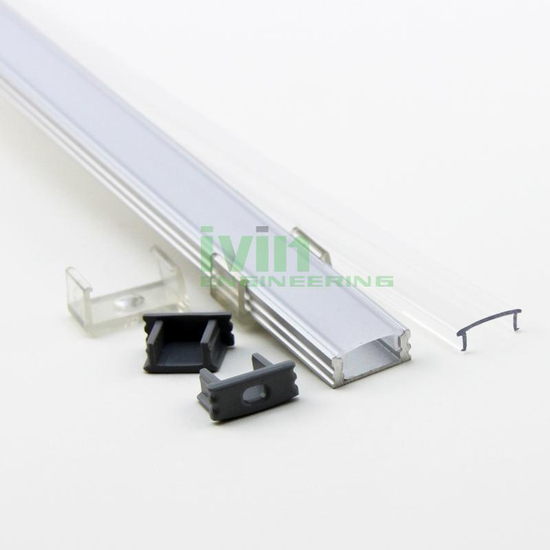 Aluminum light bar, LED PC diffuser, aluminium led channel,aluminium led bar 4