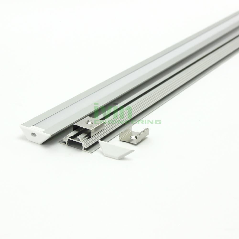 AB-3011 LED corner profile, LED wall corner light housing, 90° Corner light bar 1