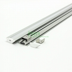 AB-3011 LED corner profile, LED wall corner light housing, 90° Corner light bar
