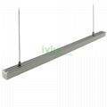AD-2623 LED pendant lineat light, LED ceiling installed linear light.
