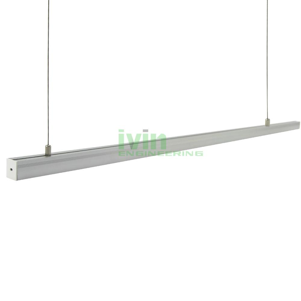 AD-2325 LED hanging linear light kit, LED suspended light bar profiles.  1