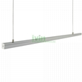 AD-2325 LED hanging linear light set, LED suspended light bar profiles.  1