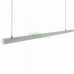 AD-2325 LED hanging linear light kit, LED suspended light bar profiles.