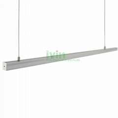 AD-2325 LED hanging linear light set, LED suspended light bar profiles.