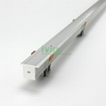 AZ-3525 Recessed under cabinets LED profile,Recessed stores led strip profiles.