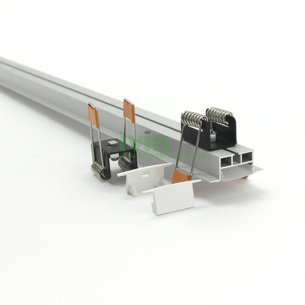 AZ-3515 LED recessed light linear aluminum profiles, LED recessed light housing. 1