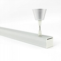 LED pendant light kit,  LED office pendant light bar, Linear suspended led light