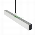 LED Suspended light heatsink, LED drop
