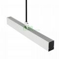 LED Suspended light heatsink, LED drop light housing kit.