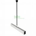 Low Bay Linear Suspended light housing, LED Office Lighting Pendant Fixture