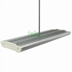 D-1650 LED hogh power linear pendant light heatsink, LED linear low bay pendant