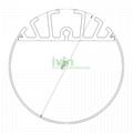 Round LED pendant light , high-quality LED linear pendant light housing.