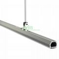 DG-4439 Architecture linear light heat sink, LED decoration drop light housing.