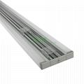 D-1580 LED wall mount light housing, LED double strips wall linear light housing
