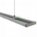D-1580 40W SMD LED Pendant light housing, 2 sided LED office light heat sink.