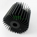 LED modular heat sink, LED module heat sink, LED heatsink module.  2
