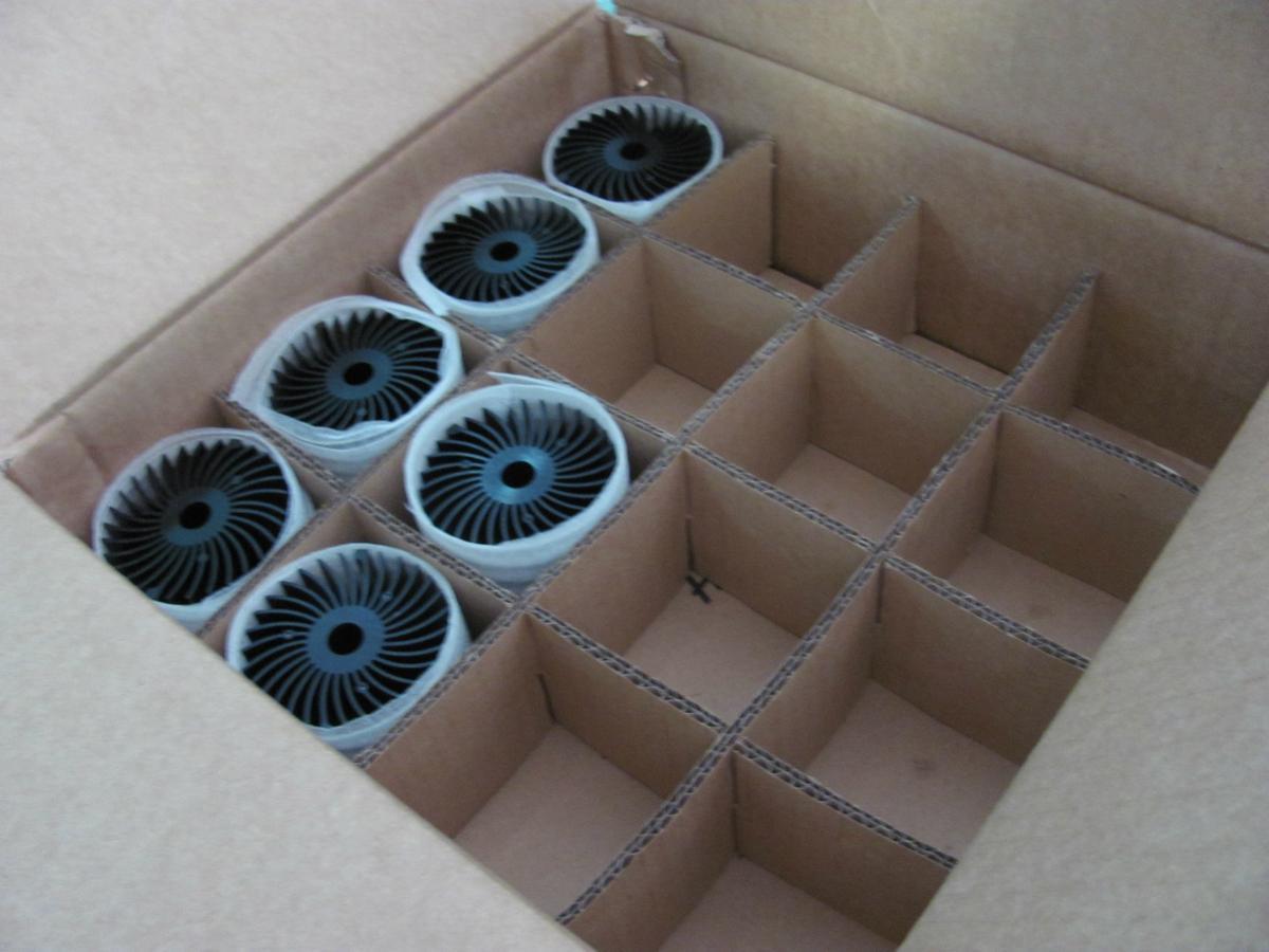 LED modular heat sink, LED module heat sink, LED heatsink module.  3