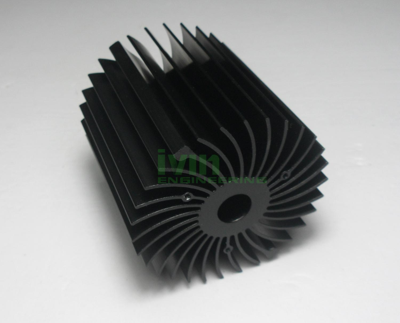 LED modular heat sink, LED module heat sink, LED heatsink module.  4