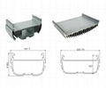 CNC LED heatsink, CNC machining LED parts, CNC lathe machining Heatsinks.