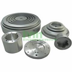 CNC LED heatsink, CNC machining LED parts, CNC lathe machining Heatsinks.