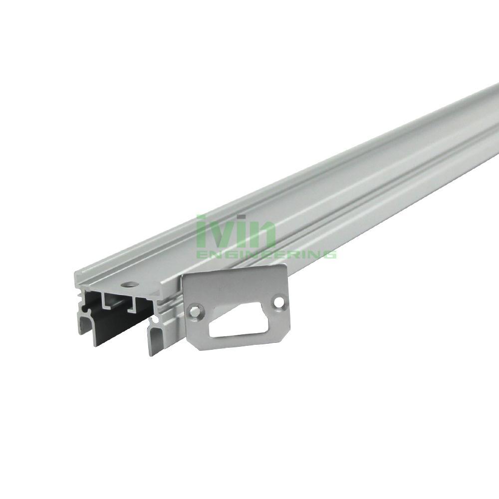 200W LED Agricultural light housing,LED canabis grow light bar heatisnk. 3