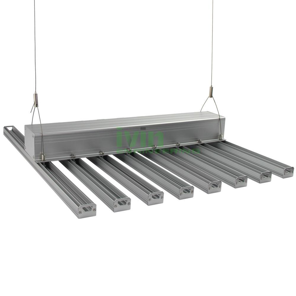 200W LED Agricultural light housing,LED canabis grow light bar heatisnk. 4
