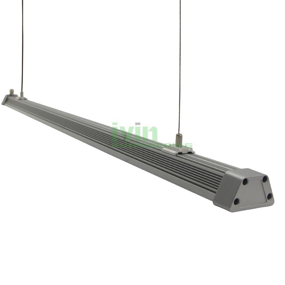 LED 60W grow light bar, LED grow light module, grow light heat sink.