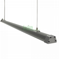LED 60W light bar, LED grow light module, grow light heat sink.