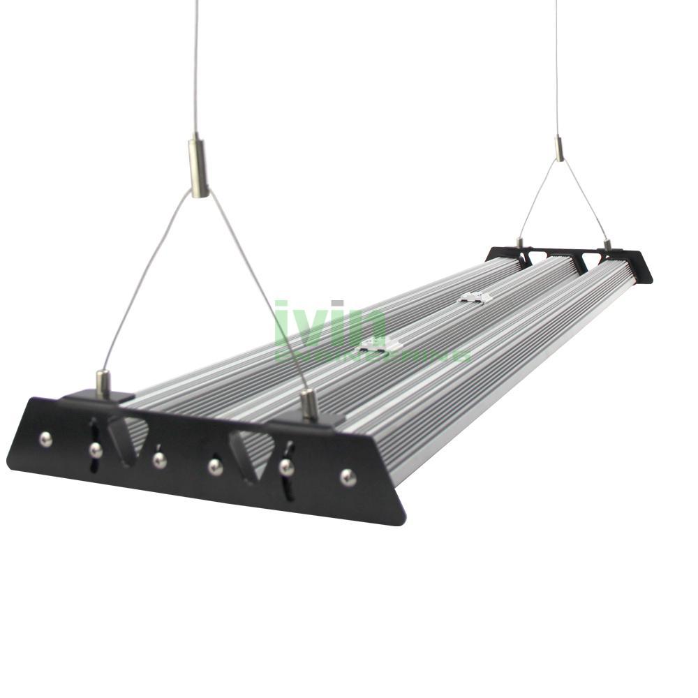LED canibis grow light bar heatisnk. Canabis LED grow light housing set. 1