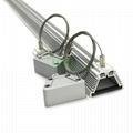 LED canibis grow light bar heatisnk. Canabis LED grow light housing set. 2