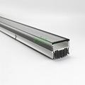 120W grow light heatsink, LED hortocultur ligth housing.  4