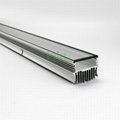 120W grow light heatsink, LED horticultur ligth housing.
