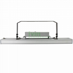 Agricultural LED light fixture 160W LED horticultural light housing.