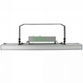 Agricultural LED light fixture 160W LED horticultural light housing.