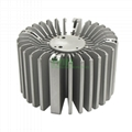 LED heatsink 150W, highbay light extrusion heat sink
