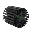 Star LED heatsink, LED extrusion heat sink, sun flower LED heatsink