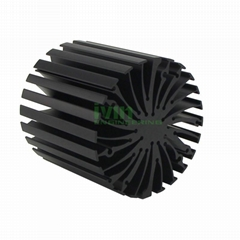 Star LED heatsink, LED extrusion heat sink, sun flower LED heatsink (Hot Product - 1*)