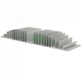 LED heat sink module, LED modular heatsink, LED module.