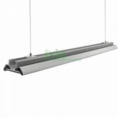 marijuana LED grow light heatsink housing, LED canabis grow light fixture.