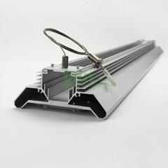 LED linear highbay light housing, LED linear low bay light heat sink casing.