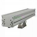 50W LED washwall light casing, IP66 LED wall washer light heatsink.