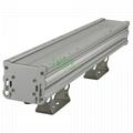 60W wall washer light casing, IP66 60W LED washwall light heat sink.
