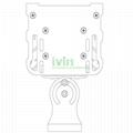120W LED washwall light heatsink, 120W LED washwall lightfixture.