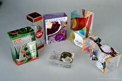 plastic cosmetic packaging box