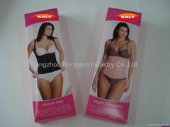 plastic lingerie box
