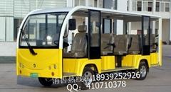 河南14座18座電動旅遊觀光車電瓶觀光遊覽車