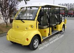 河南鄭州電動旅遊觀光車電瓶會所酒店貴賓接送車