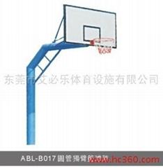 圆管独臂篮球架