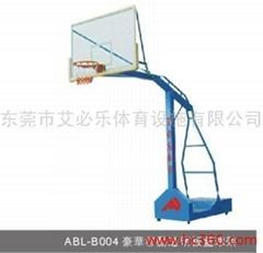 豪华移动透明板篮球架